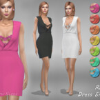 Dress Enna 3 Recolor By Jaru Sims