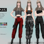 Kari Industrial Cargo Pants By Helsoseira