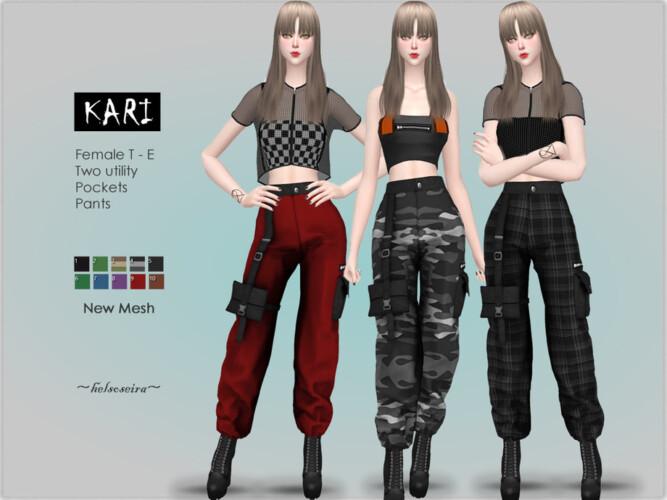 Kari Industrial Cargo Pants By Helsoseira