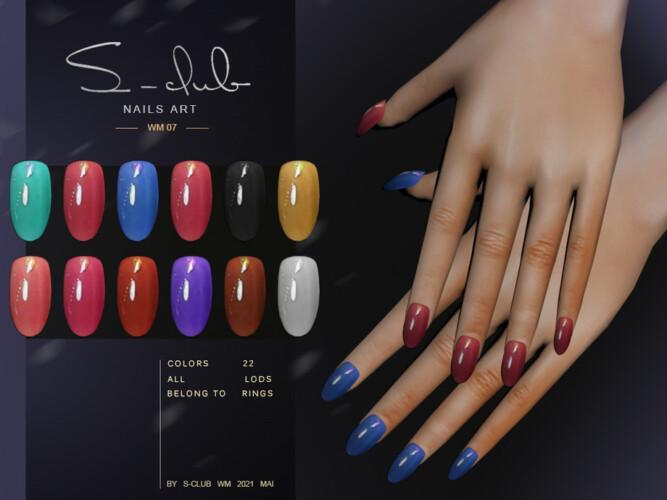 Nails 202107 By S-club Wm