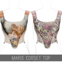 Marie Corset Top