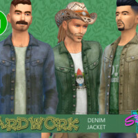 Yardwork Denim Jacket By Simmiev