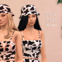 Moo Hat By Dissia