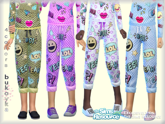 Pants Lol Child By Bukovka