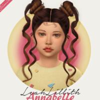 Leahlillith Annabelle Hair Kids Version