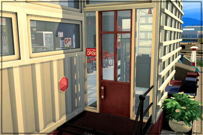 Sims 4 Restaurant Art Collection at Strenee Sims