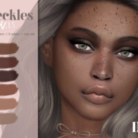 Imf Freckles N.15 By Izziemcfire