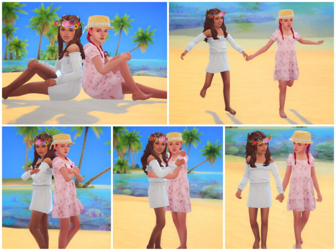 Best Friends Forever Pose Pack