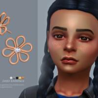 Daisy Earrings Kids Version By Sugar Owl