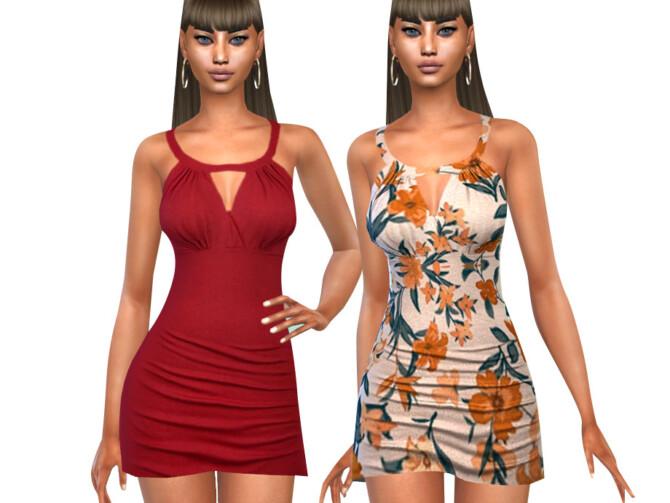 Sims 4 Summer Style Dresses by Saliwa at TSR