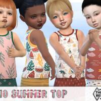 Boho Summer Top By Pelineldis