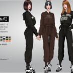 Soni Hoodie And Sweat Pants By Helsoseira