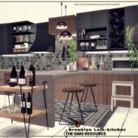 Brooklyn Loft-kitchen By Danuta720
