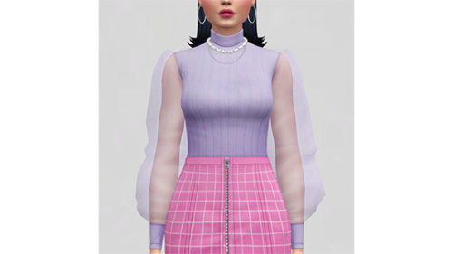 Sims 4 Delicate Weapon Bodysuit at Joliebean