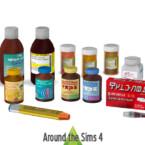Health Medication Clutter