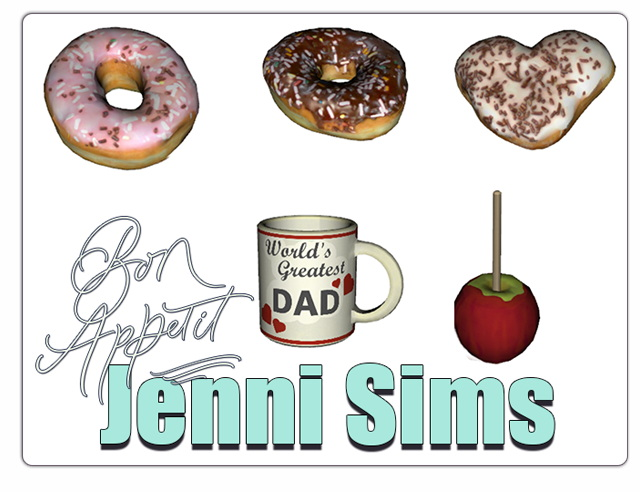 Sims 4 CLUTTER (5 ITEMS) at Jenni Sims