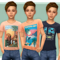 T-shirt Collection For Boys P21 By Lillka