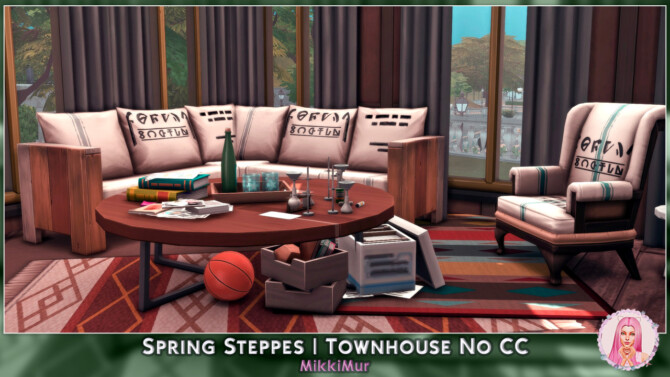 Sims 4 Spring Steppes Townhouse at MikkiMur