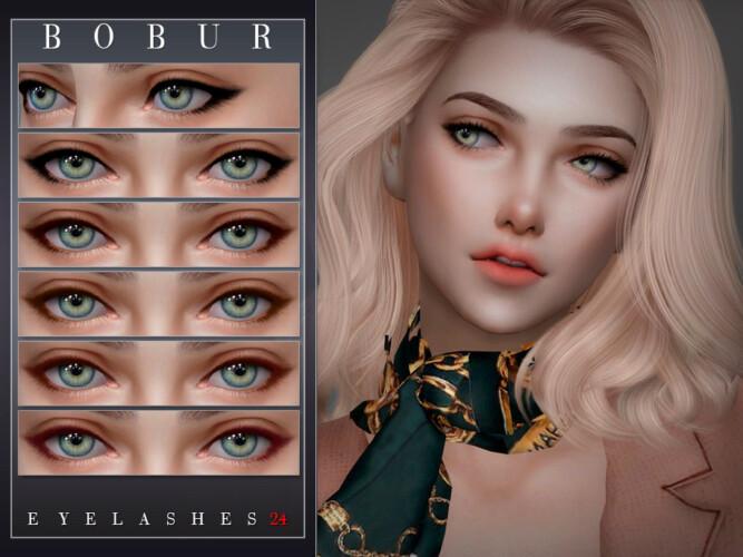 Eyelashes 24 By Bobur3