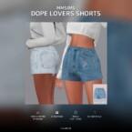 Af Dope Lovers Shorts