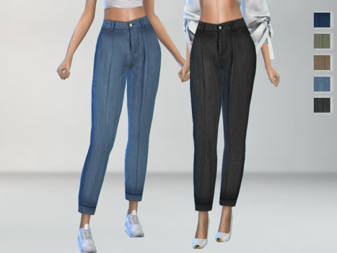 Sims 4 Casual Pants by Puresim at TSR
