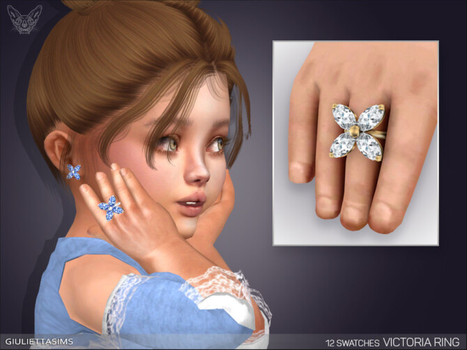 Sims 4 Victoria Ring For Toddlers by feyona at TSR