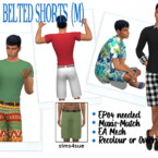 Ep04 Belted Shorts (m)