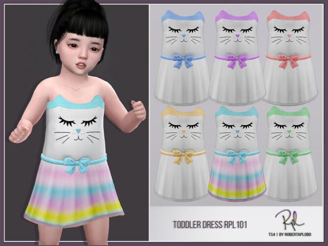 Toddler Dress Rpl101 By Robertaplobo