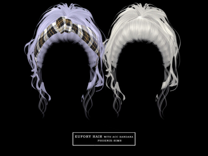 Sims 4 6 new hairstyles at Phoenix Sims