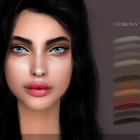 Eyebrows N23 By Angissi