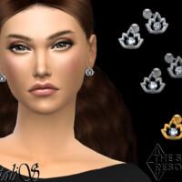 Lotus Stud Earrings By Natalis