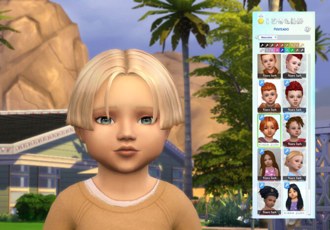 Sims 4 Dylan Hairstyle for Toddlers at My Stuff Origin