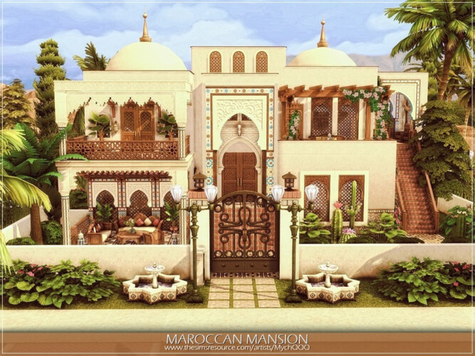 Maroccan Mansion By Mychqqq