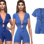 Short Sleeve Jumpsuits By Saliwa