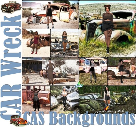 Cas Backgrounds Car Wreck
