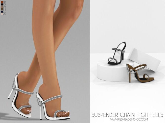 Suspender Chain High Heels