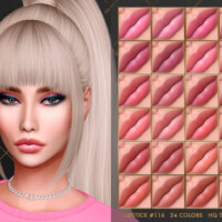 Lipstick #116 By Jul_haos