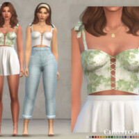 Celine Top By Christopher067
