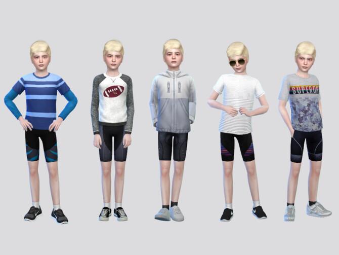 Sims 4 Marks Cycling Shorts Boys by McLayneSims at TSR