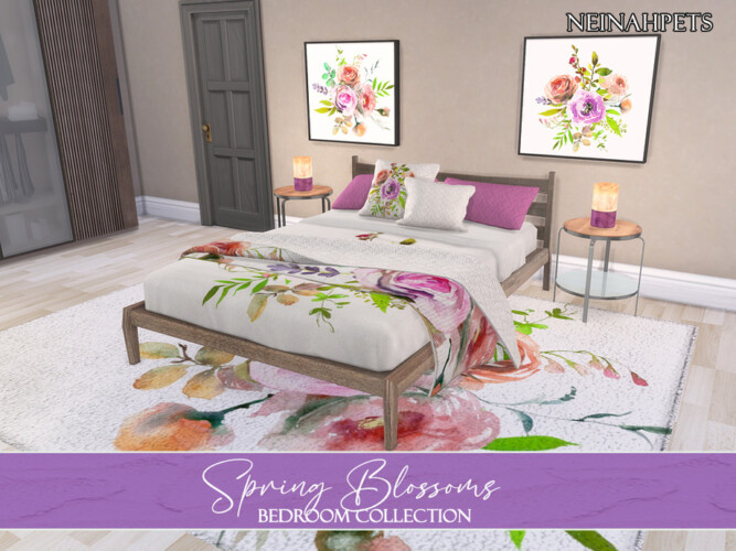 Spring Blossoms Bedroom Pt 1 By Neinahpets