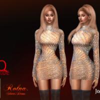 Rolna Short Dress By Jomsims