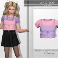 Arie Top By Katpurpura