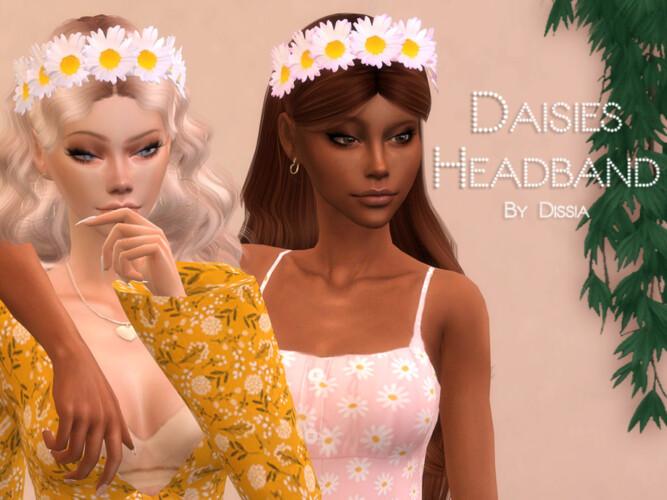 Daisies Headband By Dissia