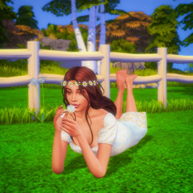 Sims 4 Dandelion Pose Pack at Katverse