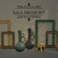 Kala Decor Set