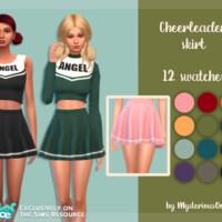 Cheerleader Skirt By Mysteriousoo