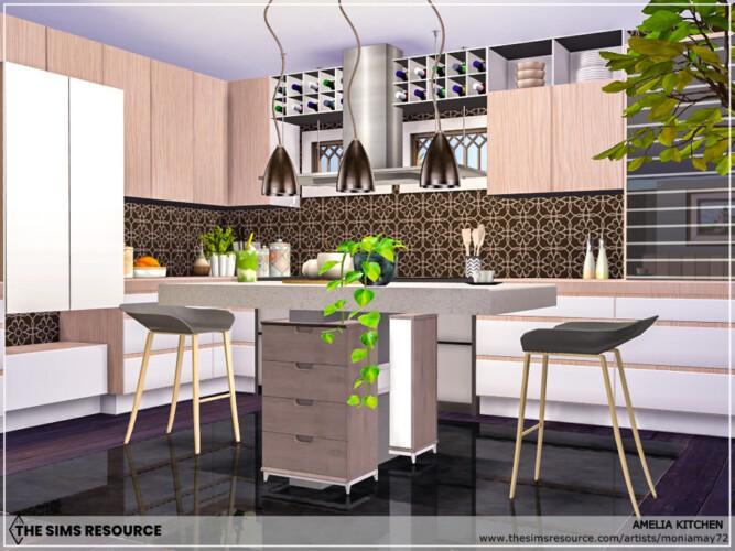 Amelia Kitchen By Moniamay72