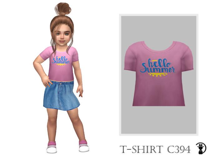 T-shirt C394 By Turksimmer