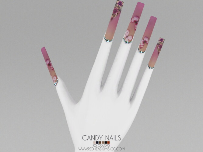 Candy Nails By Thiago Mitchell