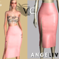 Angelived Collection Skirt Iii By Viy Sims